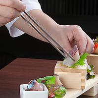 新鮮な野菜・魚・肉のこだわり食材を使用した創作料理