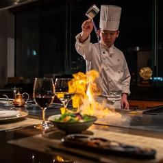 鉄板焼 心 ホテル ラ・スイート神戸ハーバーランドの写真