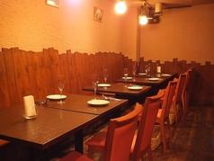 テーブルは最大12名様までOK!会社のご宴会や同窓会などお好きなシーンでご利用いただけます☆