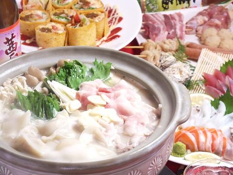 こだわりの食材を使った創作和食!九州各地の名産をお腹いっぱい味わえる!!