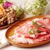 【あっさり定番】豚肉コース