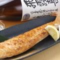 料理メニュー写真鮭ハラスの岩塩炙り焼き