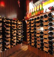 80種類以上の豊富なワイン