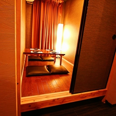 2名様からでもご利用頂けるプライベート感満載のお席です◆新宿×個室居酒屋◆