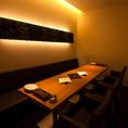 完全個室のソファ席は最大12名様まで利用可能。接待や家族でのお食事、宴会や合コンなど幅広いニーズでご利用頂けます。