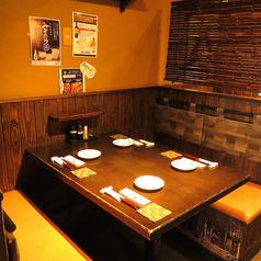 ≪こちらはテーブル席≫4名様用のテーブル席です。【天文館 しゃぶしゃぶ 個室 飲み放題 地鶏 貸切 ステーキ 郷土料理 ステーキ】
