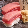 料理メニュー写真まぐろミルフィーユ寿司 (1貫)