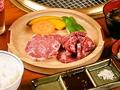 料理メニュー写真ロース・カルビ定食