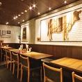 「気取らず、おしゃれに、かっこよく」をキャッチフレーズに、お酒を飲みながら、ガッツリ肉料理を楽しめる大人のお店です。