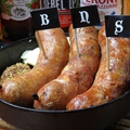 料理メニュー写真自家製ソーセージ3種の盛り合わせは必食!!