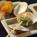 料理メニュー写真蛤の大葉巻