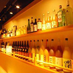 焼酎・日本酒・果実酒が50種類以上!!