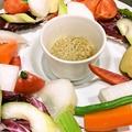 料理メニュー写真県産野菜のバーニャカウダ