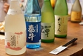豊富な熊本の地酒を多数ご用意。