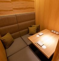【古都・京の雰囲気】 落ち着いた上質個室空間を完備!