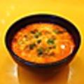 料理メニュー写真鶏スープ赤
