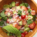 料理メニュー写真ハワイの定番サラダ ポキサラダ