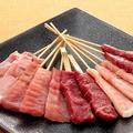 料理メニュー写真~肉類串について~