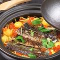 料理メニュー写真季節の土釜飯