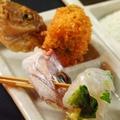 料理メニュー写真三つ葉の小鯛巻
