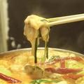 料理メニュー写真チーズタッカルかしわ鍋