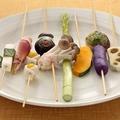 料理メニュー写真~野菜串について~