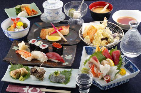 【食事会◆スタンダードコース】寿し和の定番をリーズナブルに!自慢の一品料理やお寿司を!4000円
