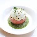 料理メニュー写真アボカドとトマトのミルフィーユカプレーゼ