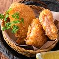 料理メニュー写真手づくり蟹くり~むコロッケ 2枚