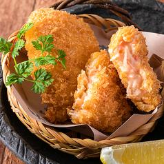 手づくり蟹くり~むコロッケ (2枚)/鶏なんこつの唐揚げ