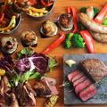 料理メニュー写真「地産地消」にこだわった料理の数々