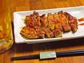 料理メニュー写真チャップ(豚ロースたれ焼き)