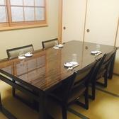 2階のテーブルお座敷個室です。接待やご家族の会食などに幅広くご利用いただけます。