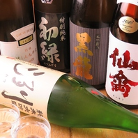 日本酒ラインナップは豊富です★