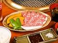 料理メニュー写真和牛カルビ定食