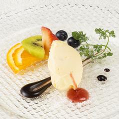 料理メニュー写真季節のアイス