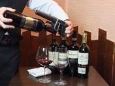 国にこだわらず、色々な国、色々な葡萄のワインを取り扱っており、様々なお料理と合わせてお楽しみいただけます!CORAVINを使えば高級ワインも全部グラスでOK☆