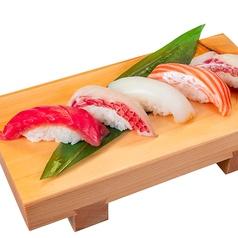 料理メニュー写真日替わり 地物入り5貫寿司