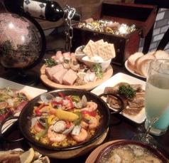 スペイン食堂 ザック Zackのコース写真