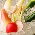 料理メニュー写真野菜スティック(自家製味噌で)