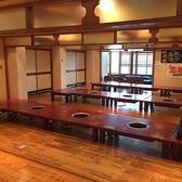 最大88名まで入る個室です。ふすまで仕切りを付けることで10名弱(お気軽にご相談下さい。)まで対応できます。