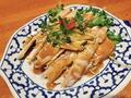 料理メニュー写真蒸し鶏のバンバンジー
