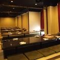 [最大120名様]大宴会も個室で♪120名個室です☆宴会シーズン大人気の大部屋となっております!!ご予約がすぐ埋まってしまいますので早めのご予約を!!