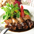 料理メニュー写真匠の大山鶏のガーリックソテー