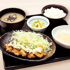 【千葉県多古町産 とろろ定食】伊達鶏のチキン南蛮タルタル定食