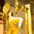 よく冷えたビールと焼き鳥の最強コンビ!ジュシーな焼き鳥はビールも進みます♪居酒屋の定番料理も多数取り揃えております。