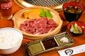 料理メニュー写真焼き肉定食