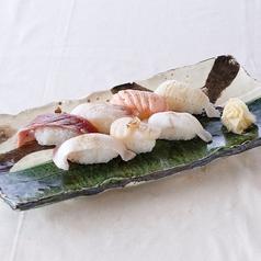 炙り寿司盛り合わせ7貫