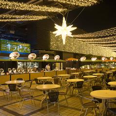 大阪タカシマヤ 屋上ビアガーデン キラビア ベジプラススタイルの写真