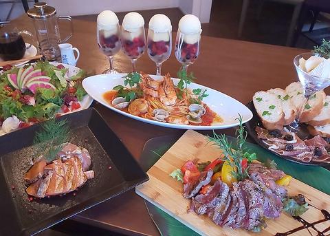 2H飲み放題+料理4品メニュー指定や予算変更承ります♪ Wishの宴会スタンダードコース 3500円